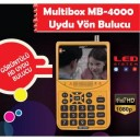 Multibox MB-4000 HD Led'li Uydu Yön Bulucu